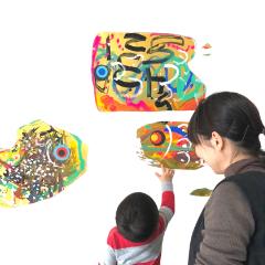 親子絵画教室